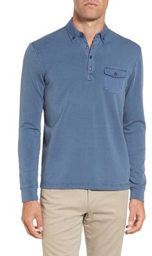 Michael Bastian Men's French Terry Rugby Shirt