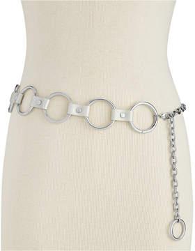 Steve Madden Circle-Link Chain Belt