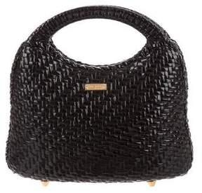 Eric Javits Glazed Top Handle Bag