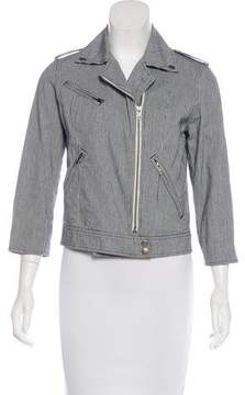 Steven Alan Striped Zip-Front Jacket