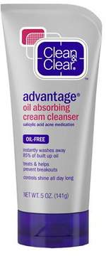 Clean & Clear Advantage Oil-Absorbing Cream Cleanser