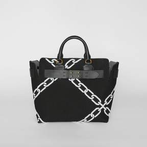 Burberry The Medium Knitted Link Belt Bag