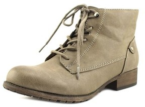 Jellypop Grant Women Round Toe Synthetic Gray Bootie.