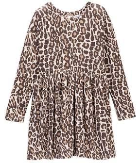 Splendid Animal Print Loose Knit Dress (Little Girls)