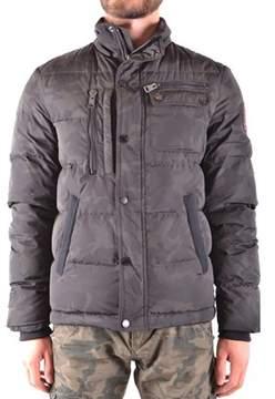 Aeronautica Militare Men's Green Polyamide Outerwear Jacket.
