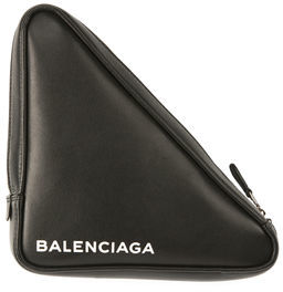 Balenciaga Triangle Leather Pochette
