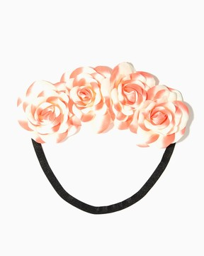 Charming charlie Dreamy Rose Hair Wrap