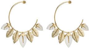 Aurelie Bidermann Creolen Talitha 18kt Gold Plated Earrings
