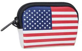 Manhattan Portage Unisex Stars And Stripes Coin Purse (set Of 2).