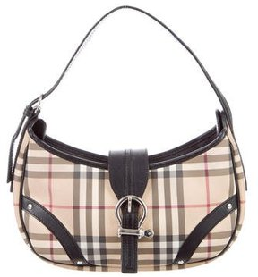 Burberry Nova Check Shoulder Bag - NEUTRALS - STYLE