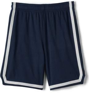Lands' End Lands'end School Uniform Men's Mesh Athletic Shorts