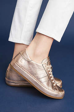 D.A.T.E Rose Gold Sneakers