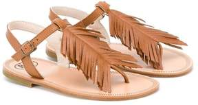 Pépé fringed sandals