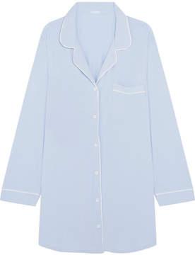 Eberjey Stretch-modal Jersey Nightdress - Sky blue