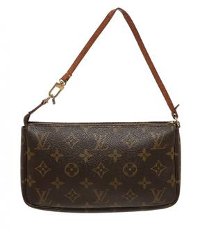Louis Vuitton Pochette Monogramme handbag - BROWN - STYLE