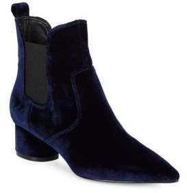 KENDALL + KYLIE Velvet Chelsea Boots