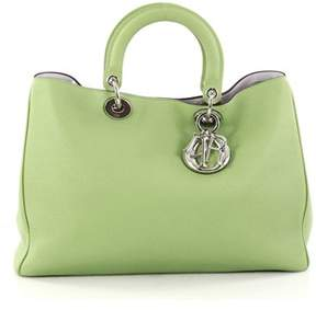 Christian Dior Pre-owned: Diorissimo Tote Pebbled Leather Large.