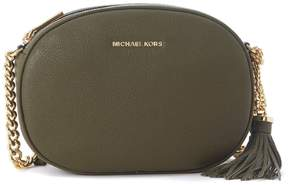 Michael Kors Ginny Green Olive Leather Bag - VERDE - STYLE
