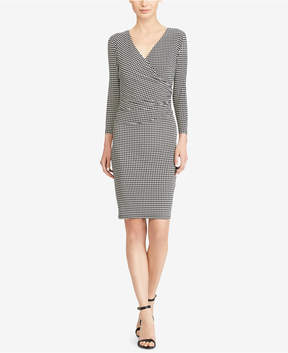 American Living Houndstooth Jersey Dress