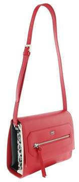 Roberto Cavalli Medium Shoulder Bag Leopride Red Shoulder Bag.