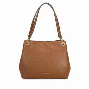 Michael Kors Raven Large Leather Shoulder Bag - Luggage - BROWNS - STYLE