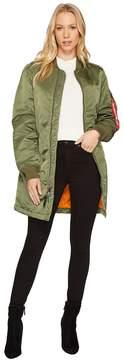 Alpha Industries MA-1 Long Jacket Women's Coat
