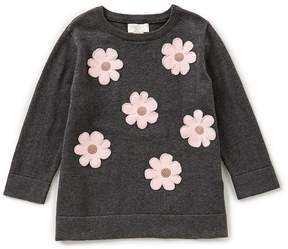 Kate Spade Big Girls 7-14 Floral-Embroidered Sweater