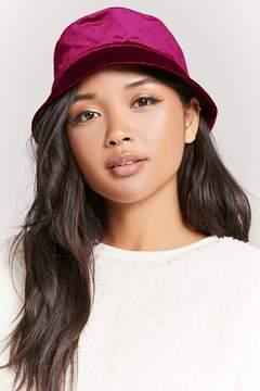 Forever 21 Velvet Bucket Hat