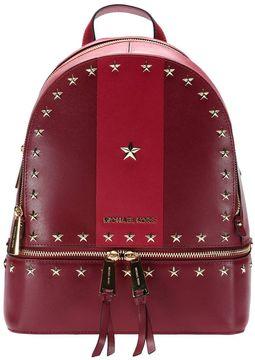 MICHAEL Michael Kors Backpack Shoulder Bag Women - BURGUNDY - STYLE