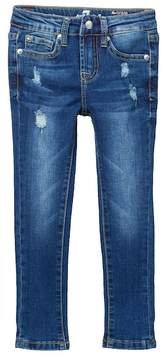7 For All Mankind The Ankle Skinny Ultra Flex Jeans (Little Girls)