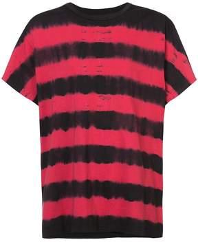 Amiri striped T-shirts