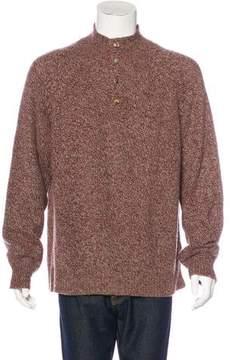 Loro Piana Baby Cashmere Henley Sweater