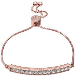 Brilliance+ Brilliance Love You More Bolo Bracelet with Swarovski Crystals