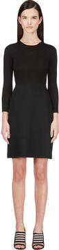 Calvin Klein Collection Black Combo Tay Bis Dress