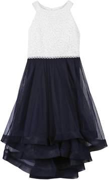 Speechless Girls 7-16 Jeweled Bodice High-Low Dress