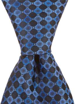 Murano Puzzle Circle Traditional Silk Tie