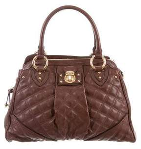 Marc Jacobs Quilted Alyona Satchel