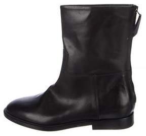 Jenni Kayne Leather Round-Toe Ankle Boots