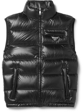 Prada Quilted Ripstop Down Gilet