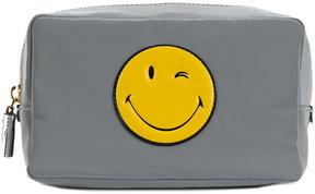 Anya Hindmarch Smiley make-up bag