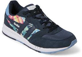 Gola Navy & Pale Blue Samurai Hibiscus Jogger Sneakers