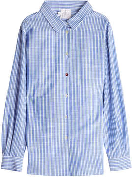Stella Jean Pinstriped Cotton Shirt