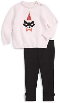 Kate Spade cat mask sweater & leggings set (Baby Girls)