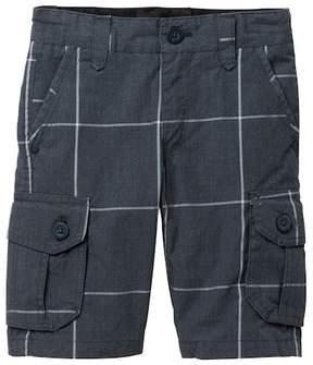 Hurley Plaid Cargo Shorts (Little Boys)