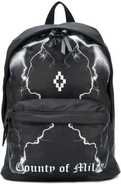 Marcelo Burlon County of Milan lightning strike backpack