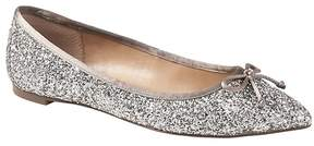 Banana Republic Pointed-Toe Robin Glitter Ballet Flat