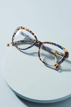 Anthropologie Lucy Marbled Reading Glasses