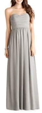 Donna Morgan Sweetheart Chiffon Gown