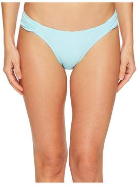 Letarte Ruched Side Bottoms Women's Swimwear