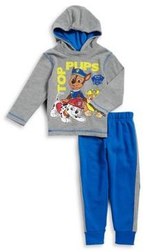 Nannette Little Boy's Two-Piece Paw Patrols Graphic Hoodie and Elasticized Jogger Pants